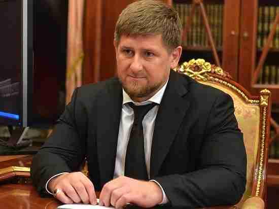 Руководителя Чечни Кадырова наградили золотой медалью заразвитие медицины