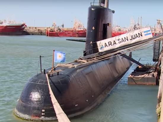 ВМС Аргентины: шансов найти пропавшую субмарину практически нет