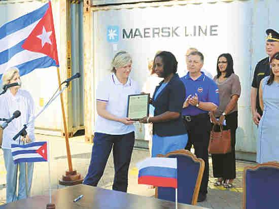 МЧС Российской Федерации направило наКубу 300 тонн гуманитарной помощи