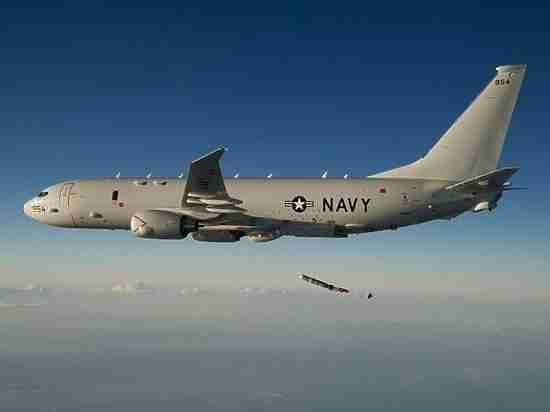 У Окинавы разбилось воздушное судно США с военными на борту