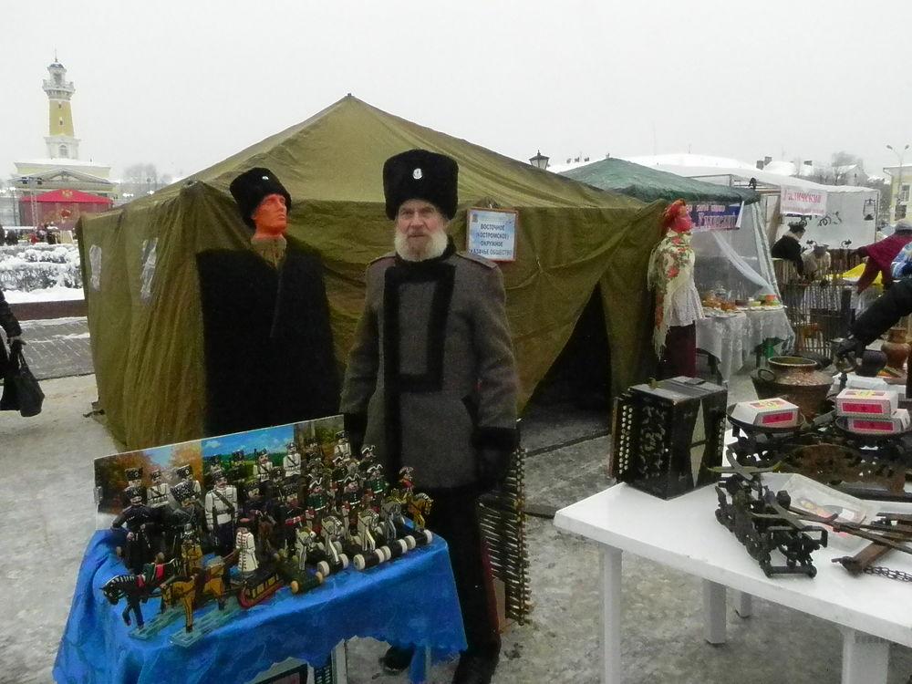 Кострома гуляет на большой «Губернской ярмарке»