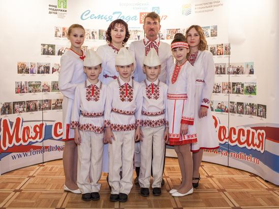 Президент поздравил победителей конкурса «Семья года»