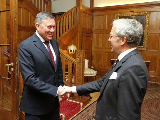 Губернатор Вологодской области обсудил вопросы сотрудничества с послом ФРГ