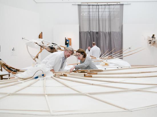 Махолёт «Летатлин» выставили вТретьяковской галерее