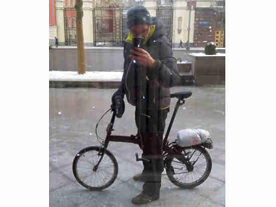 Московский программист рассказал, зачем ездит на велосипеде зимой