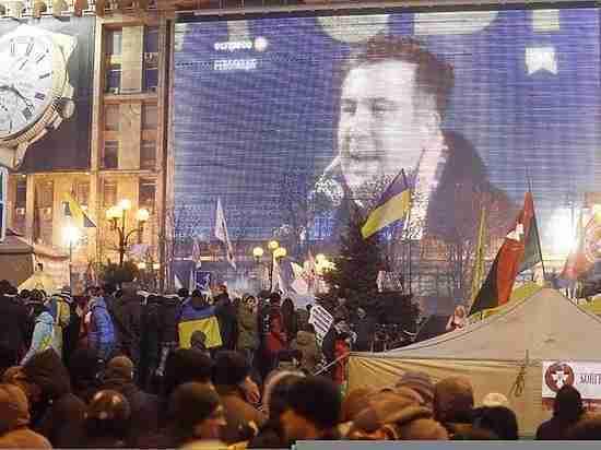 """Украинские силовики """"потеряли"""" Саакашвили во время штурма палаточного лагеря"""
