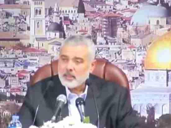 Лидер ХАМАС призвал кновому восстанию против Израиля