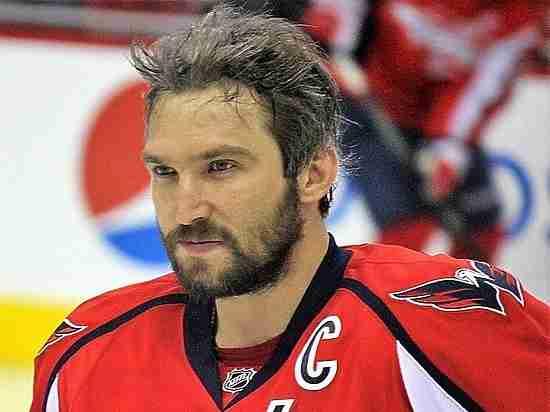 Овечкин вошёл впятёрку самых высокооплачиваемых игроков НХЛ поверсии Forbes