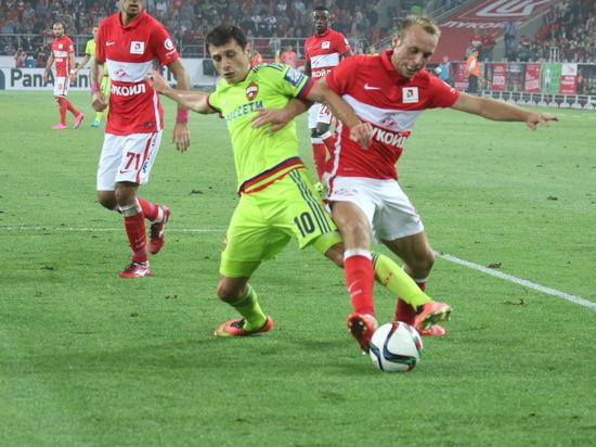 «Спартак» обыграл ЦСКА вмосковском дерби срезультатом 3:0