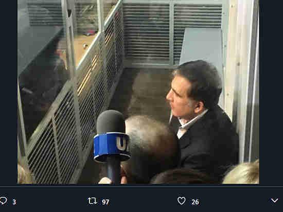 Прокуратура Украины ходатайствует одомашнем аресте для Михаила Саакашвили
