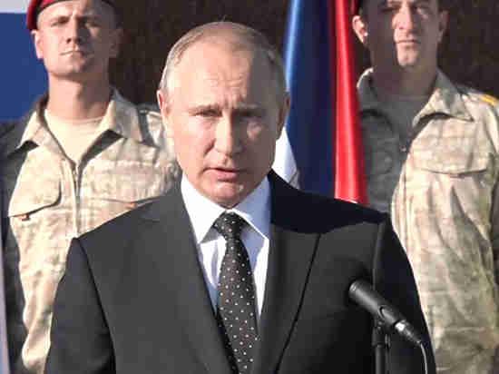 Путин пригрозил террористам вСирии новыми ударами, ежели те«поднимут голову»