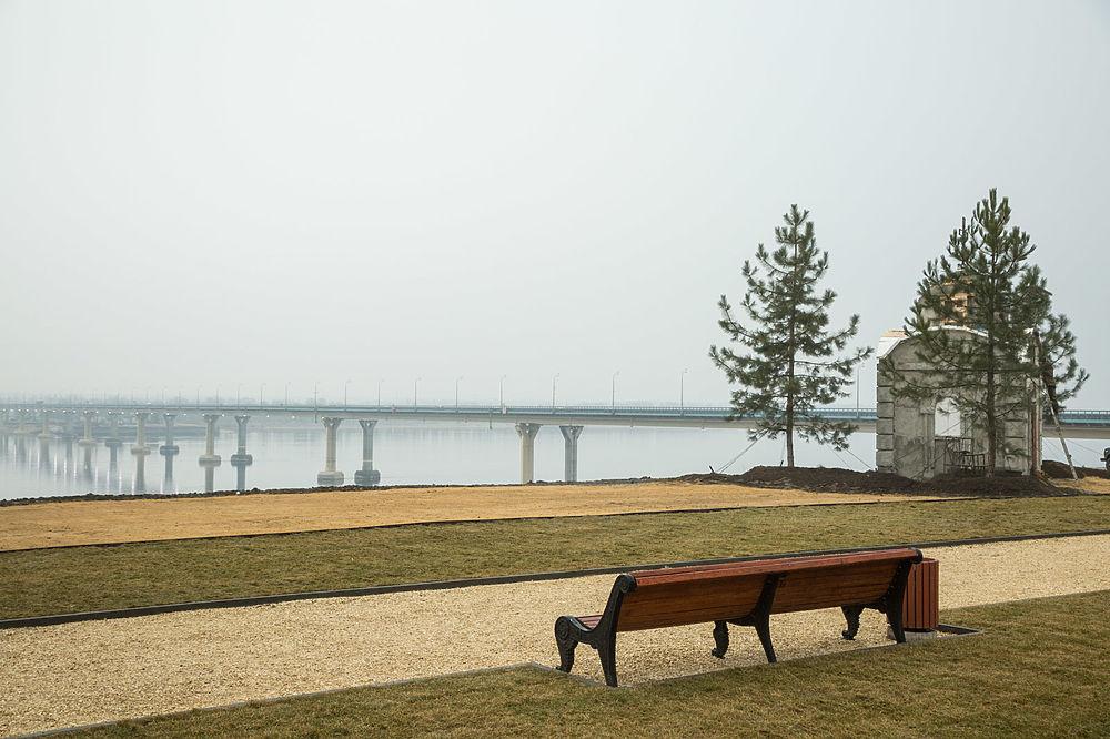 Андрей Бочаров проинспектировал работы в волгоградском парке культуры и отдыха
