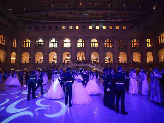 Российские кадеты установили рекорд: танцевали более 600 пар
