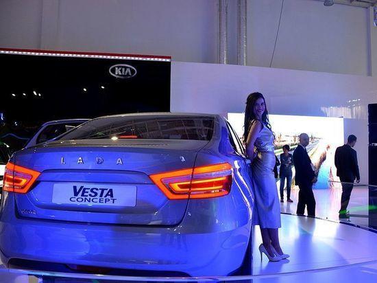 Германский корреспондент разогнал Лада Vesta домаксимальной скорости