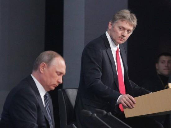 Песков попросил Собчак не дебатировать с Путиным на его пресс-конференции