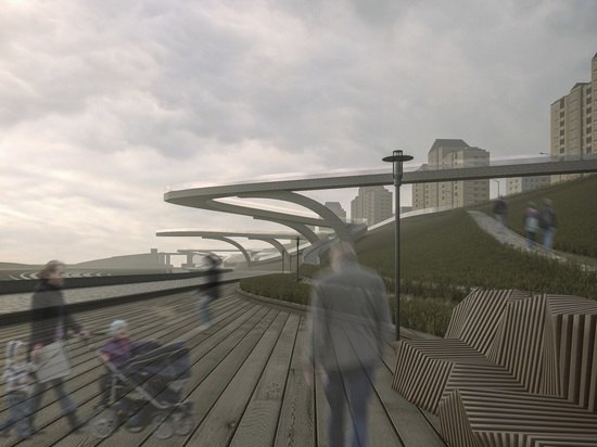 В Москве появится еще один «парящий мост»
