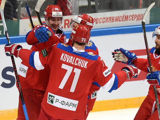 Россия - Канада: онлайн-трансляция матча хоккейного Евротура