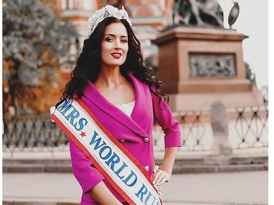 Белоруска Дарья Реут стала 3-й красавицей на«Миссис Мира-2017