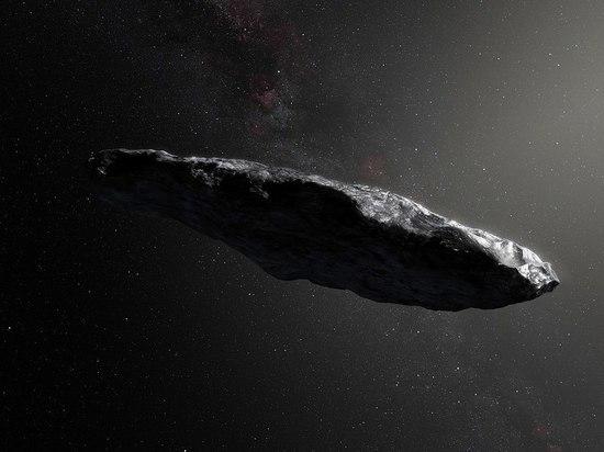 Ученые узнали состав первого межзвездного астероида