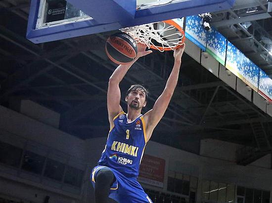 «Химки» обыграли турецкий «Анадолу Эфес» вматче баскетбольной Евролиги