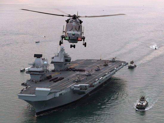Новейший британский авианосец за £3,1 млрд неожиданно дал течь
