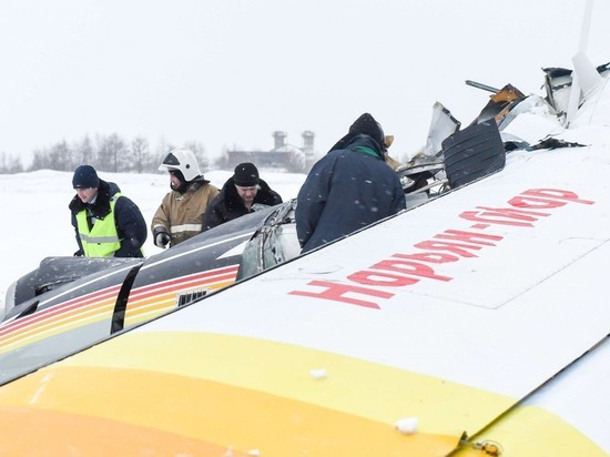 Крушение пассажирского самолета в Нарьян-Маре: число жертв растет