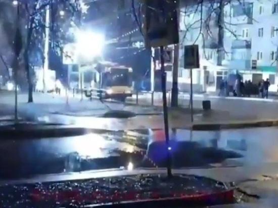 В Тамбове утром встали троллейбусы