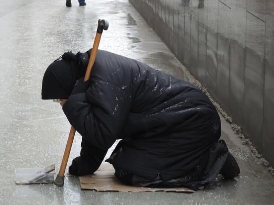 Количество нищих в России будет увеличиваться с каждым годом