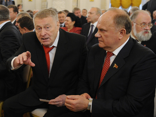 Караул, устал: Зюганов испугался Жириновского