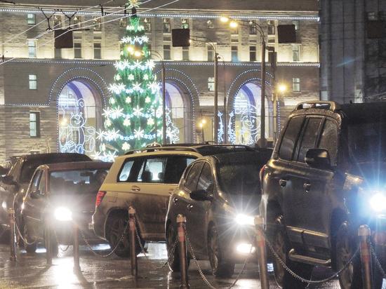 Перекрытия улиц в Москве на Новый год станут масштабными