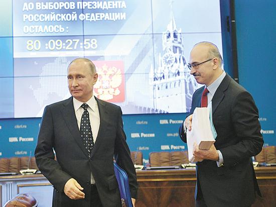 Часы ЦИКа пробили для Путина: кандидат заинтересовался временем, идущим вспять