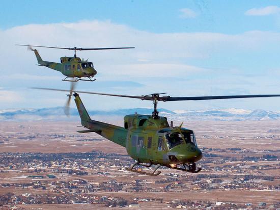 Сирийские СМИ: вертолеты коалиции США эвакуировали главарей ИГИЛ* изДейр-эз-Зора