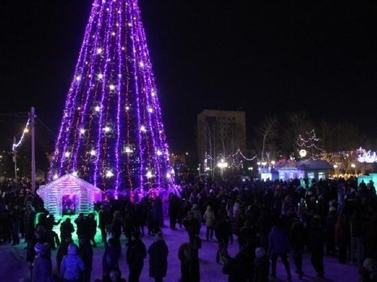 Новый год Томск встретил спокойно