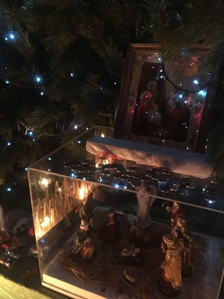 Православные оренбуржцы встречают Рождество