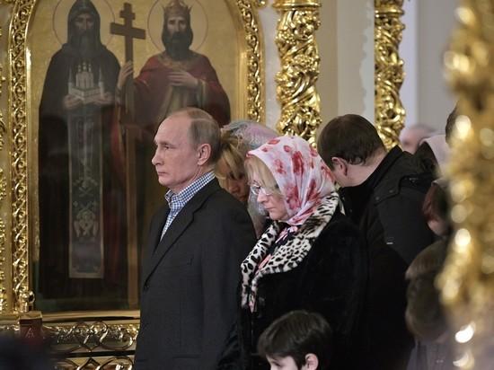 Песков поведал, где крестили родителей Владимира Путина