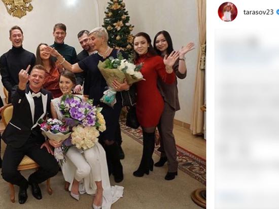 Футболист Дмитрий Тарасов женился на модели Анастасии Костенко