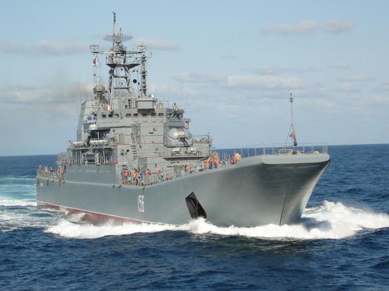 Столкновение российского корабля в Эгейском море: военные все равно виноваты