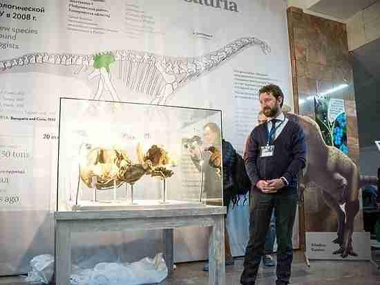 В Кемеровской области нашли сибиротитана