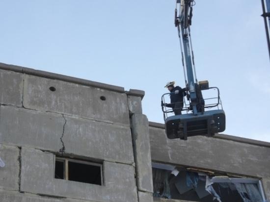 В Новорудном ремонтируют дом, пострадавший при взрыве бытового газа