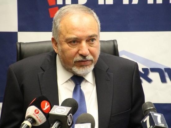 Либерман огласил стратегическую доктрину в отношении сектора Газы