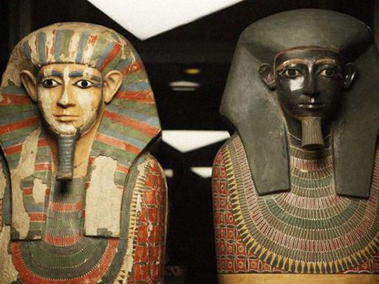 Две египетские мумии, обнаруженные столетие назад, оказались братьями поматери