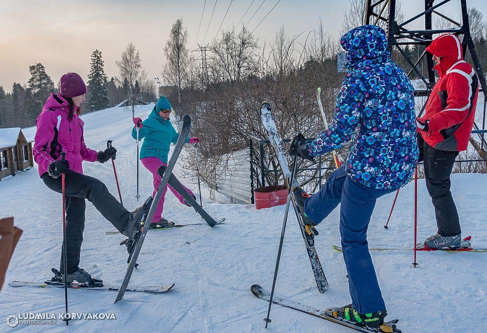 Лучшие фото со Дня снега в Петрозаводске