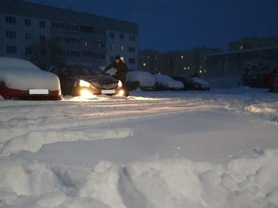 На Костромскую область обрушился снежный циклон