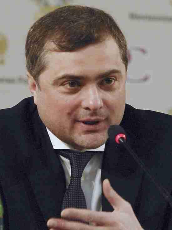 Сурков рассказал об обнадеживающих предложениях Волкера по Донбассу