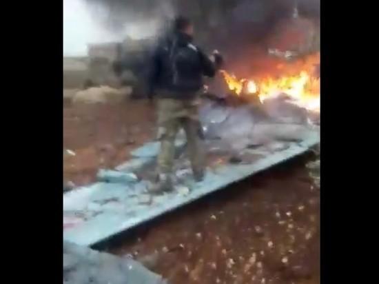 Минобороны подтвердило гибель Су-25 и пилота в Сирии
