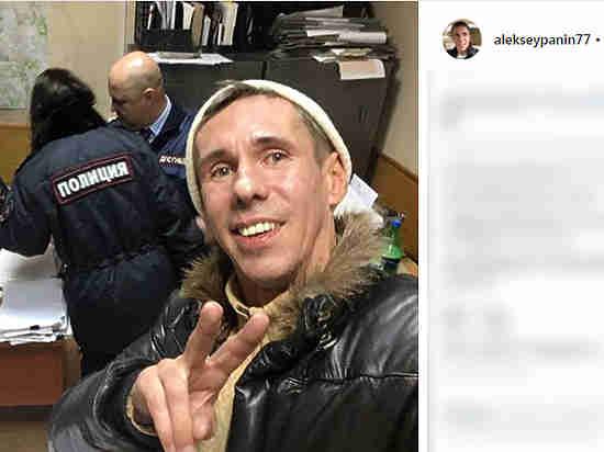 В столицеРФ схвачен актёр Алексей Панин