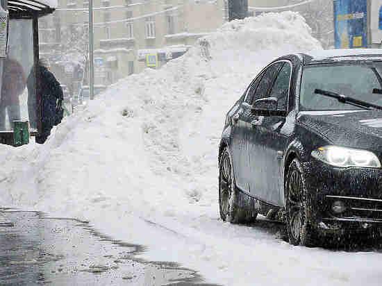 Власти столицы небудут отменять плату запарковки из-за снегопада