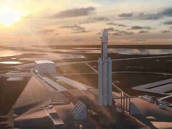 SpaceX впервый раз запустила ракету-носитель Falcon Heavy