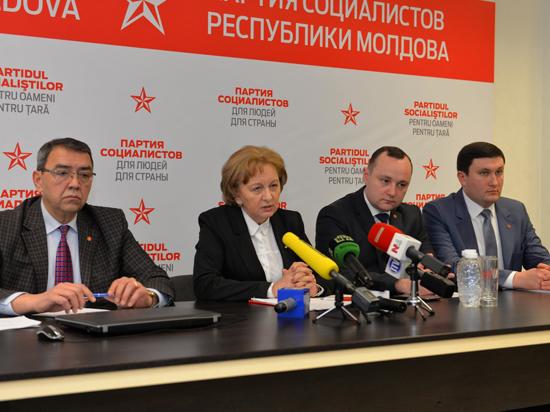 Зинаида Гречаный представила Программу деятельности фракции ПСРМ на весенне-летней сессии 2018 года