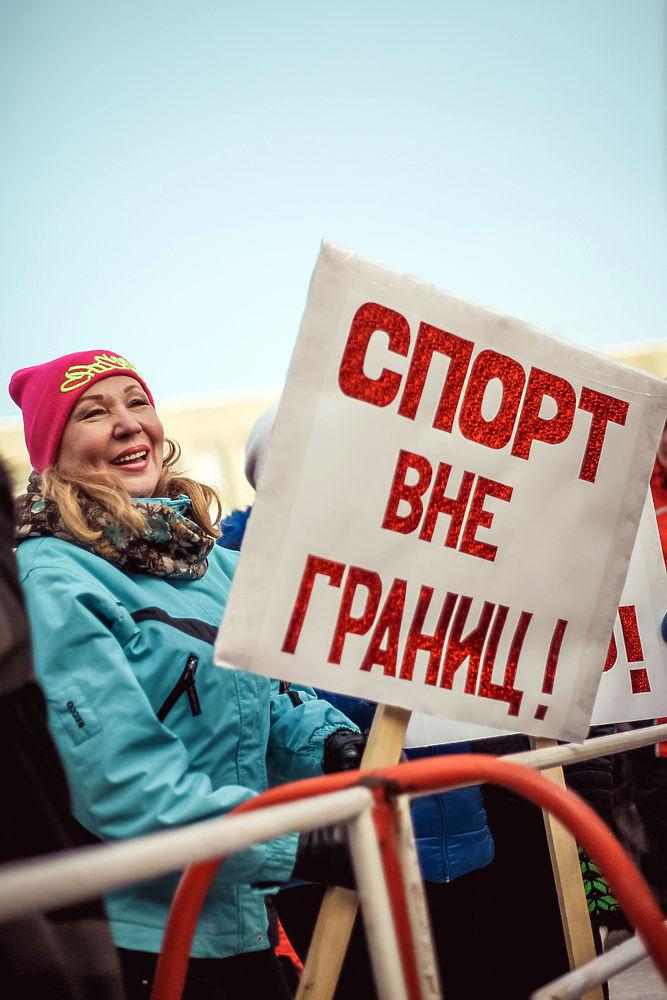 3 февраля в крупных городах России прошли митинги и флешмобы в поддержку наших спортсменов, которые не смогут выступить под российским флагом в Пхенчхане на XXIII зимних Олимпийских играх.